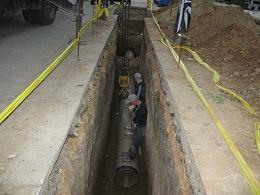 Строительство футляров под газ диаметром 525 и 630 мм длиной от 20 до 100 метров. г.Одесса. Грунт плотная глина.