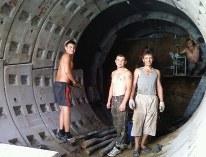 Бурение тоннелей уникальным методом