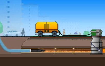 Санация трубопровода методом «труба в трубу»